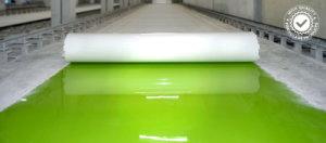 Fibreglass sheet production
